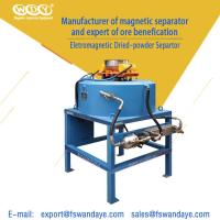 Best Mineral Processing Magnetic Separator Machine Magnetic Field Strength 3T wholesale