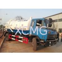 China Safety Reliable Special Purpose Vehicles , 6.5L Transport Sewage Vacuum Truck on sale