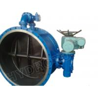 China Electric / Manual Drived Flanged Butterfly Valve with Pressure 0.25Mpa - 2.5 Mpa for hydropower on sale