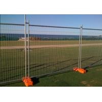 Best Temporary Security Fence Panels , Building Site Fencing 2.4m Length wholesale