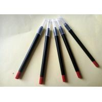 Long Lasting Red Lipstick Pencil PVC High Performance Simple Design ISO for sale