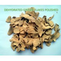 Best Dehydrated ginger flakes (polished) ,natural orgnic ginger products,grade A wholesale