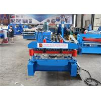 China Metal Roofing K Gutter Roll Forming Machine Low Noise ISO CE Certification on sale