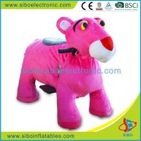 Best Coin Operated Battery Animal Plush Animals Motorized Animal Ride wholesale