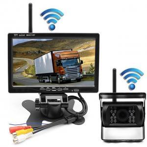 Best Wireless Reverse Parking Rear View Backup Camera System For RV Trailer Truck Motorhome wholesale