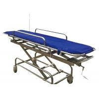 China Light Portable Patient Stretcher Trolley High Strength Aluminum Alloy Material on sale