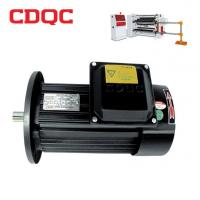 China High Torque Low Rpm Ac Electric Motor Three Phase Servo Motor 35.6KW 100 Rpm on sale