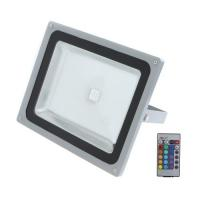 Best 50w , 80w , 100w high power RGB led remote controlled outdoor flood lighting  with RF Controller wholesale