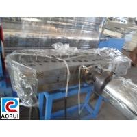 China Double Screw PVC Packaging Sheet Extrusion Machinery , PVC Sheet Plastic Extruder on sale