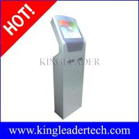 China Custom design self-service ticketing kiosks with note acceptor,thermal printer and camera on sale