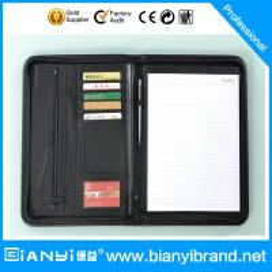 Best Portfolio/leather folder professional supplier wholesale