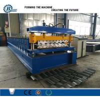 Buy cheap Buiding Material Big Wave Steel Corrugated Roof Sheet Roll Forming Machine from wholesalers