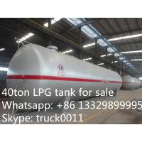 Best 40 metric tons bulk LPG tank for sale, high quality and competitive price LPG gas storage tank for sale wholesale