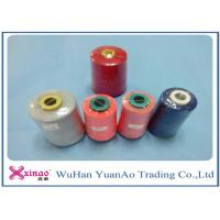 Cheap Virgin100% Polyester Sewing Thread 5000M On Plastic Cone For Sewing for sale