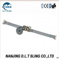 China E track Ratchet Straps , According to EN12195-2, ASME B30.9 standard, CE, GS certificate approved. on sale