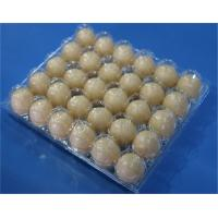 Buy cheap Disposable plastic egg tray 30 holes egg packaging box plastic egg tray 15 slots from wholesalers