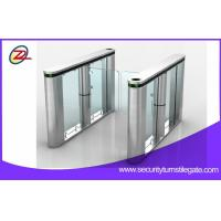 China Fingerprint Scanner Swing Barrier Gate with Access Control Card wholesale