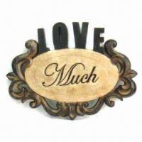 Best Pierced Wall Plaques with Wording in Antique Rustic Finish wholesale