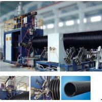 China HDPE Plastic Pipe Extrusion Line , PE Large Calibre Hollowness Wall Winding Machine on sale