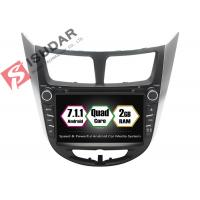 Best Rockchip PX3 7 Inch 2 Din Android Car DVD Player For Hyundai Verna / Accent / Solaris wholesale