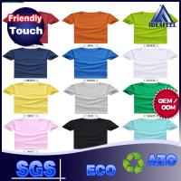 Best Various Color No Wrinkle Custom Personalized T Shirts For Adults 140g - 180g wholesale