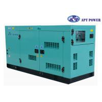 Best 30kVA 1500rpm Cummins Diesel Generator with AMF / ATS Panel , AC Output wholesale
