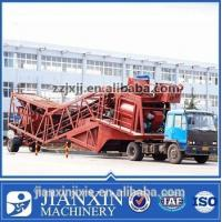 China Stable good and high quality yhzs50 mobile concrete batching mixing plant for sale on sale