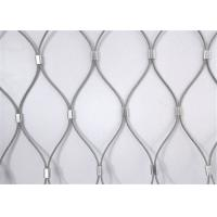 China Flexible X-Tend Ferruled Stainless Steel Rope Mesh Netting For Balcony Balustrade on sale