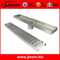 China Stainless steel linear/invisible floor drain grating on sale