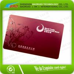 Best Custom Printing Transparent Business Name Card wholesale