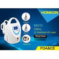Buy cheap Mini Size Q Switched ND YAG Laser Tattoo Removal Machine With Water Cooling product