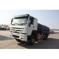 China 6x4 Sewage Tanker Truck/ 13 CBM Waste Disposal Truck With Pressure Discharge Function on sale