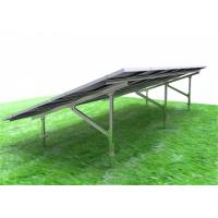 Cheap Framed Solar PV Mounting Systems High Pre - Assembly Parts Optional Tilt Angle for sale