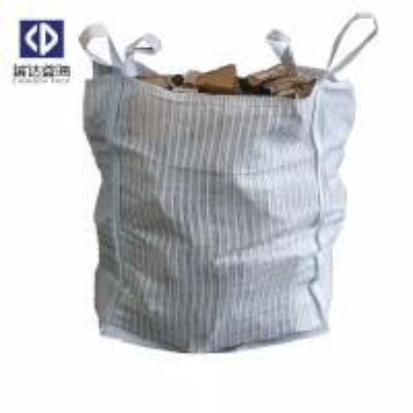 Cheap Ventilated FIBC Bulk Bags / Bulk Firewood Bags For Potato Onion Vegetables for sale