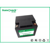 China OEM 12.8V40Ah OEM / ODM Rechargeable Battery Pack LiFePO4 Battery Pack For Solar Energy on sale