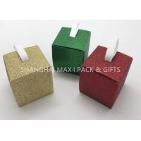 Best Folding 3× 3× 3 Xmas Gift Boxes Small To Large , Party Decorative Holiday Gift Containers Cute wholesale
