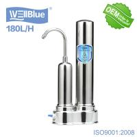 Best Household Ceramic Countertop Water Filter With Stainless Steel Faucet wholesale