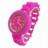 Best Silicone Watches with Twist Shape, Waterproof, Quartz, Twist Makes it Look Different, Ideal for Gift wholesale