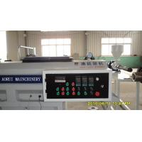China High Output Plastic Pipe Extrusion Line / Full Automatic PVC Pipe Production Machine on sale
