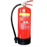 Cheap Hospital / Factory Portable Foam Fire Extinguisher 9L Tripod Type With Foot for sale