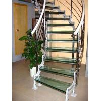 China 16.76MM laminated tempered glass as staircases on sale