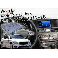 Buy cheap GPS Navigation Car Multimedia Interface For Infiniti Q70 / M25 M37 Support from wholesalers