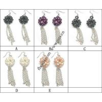 Best Fresh water pearl earring wholesale