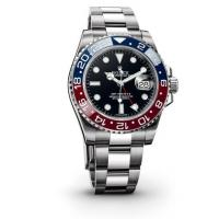 Rolex GMT-Master II Black Automatic stainless steel and 18kt yellow gold Mens Watch116713R