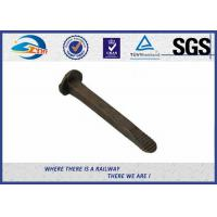 Buy cheap Standard Plain Railroad Track Spike Dog Screw Spikes Carbon Steel 4.6 Grade product