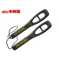 China Terascan Handheld Body Scanner , 9V Battery Powered Security Hand Scanner on sale