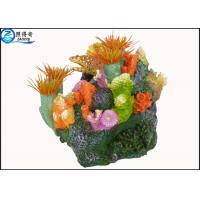 Best Polyresin Air Operated Large Fish Tank Ornaments With Bubble Effect For Aquarium Decorations wholesale
