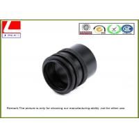 Buy cheap CNC Custom Plastic Parts Black POM Sleeve Used For Sensor System Outdoor from wholesalers