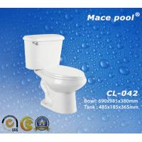 Best S-Trap Two-Piece Toilets Water Closet for Bathroom (CL-042) wholesale