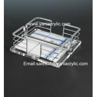 Best Weatherability Cutting, Grinding Plexiglass Acrylic Fical Tissue Holder With Sgs Standards wholesale